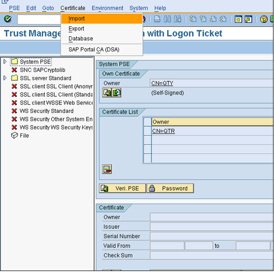 Single Sign-On configuration between ABAP AS and JAVA AS – INTRUST