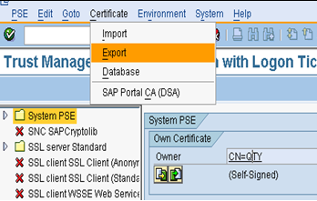 Single Sign-On configuration between ABAP AS and JAVA AS